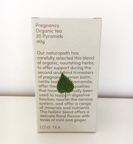 Love Tea Organic Pregnancy Tea - Pyramid 20pk