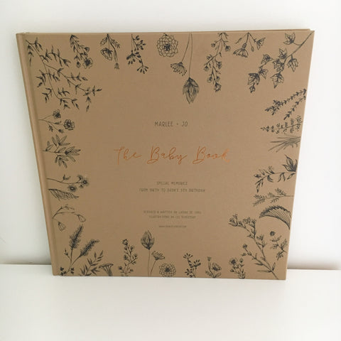 Marlee + Jo The Baby Book Limited Edition Nature Collection | Bundles for Bumps