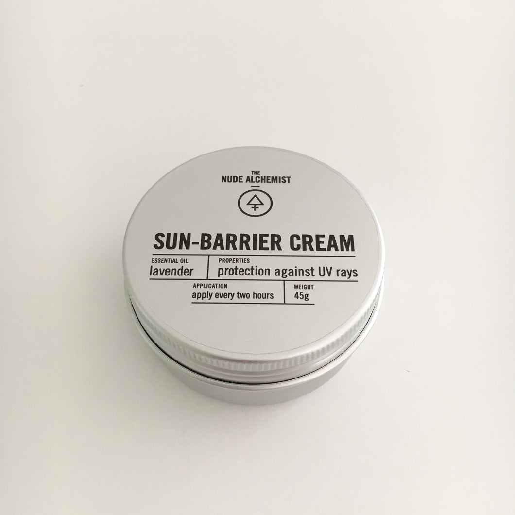 The Nude Alchemist Sun Barrier Cream | Bundles for Bumps