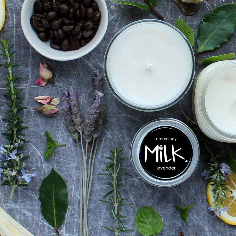 Bundles for Bumps | Studio Milk Tinned Soy Candle Lavender