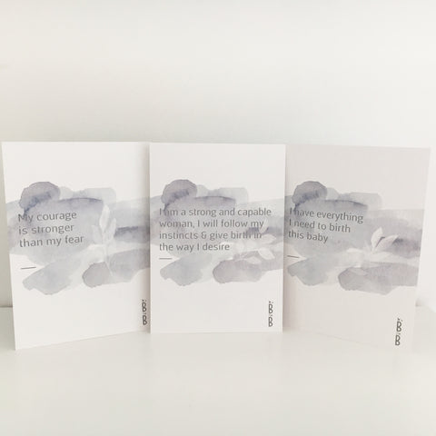Birth Affirmation Cards - 10pk