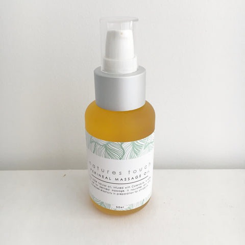 Natures Touch Perineal Massage Oil - 50ml