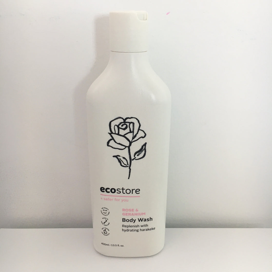 Ecostore Rose & Geranium Body Wash 400ml