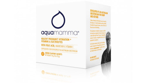 Aquamamma - Pregnancy Hydration Sachet 10pk