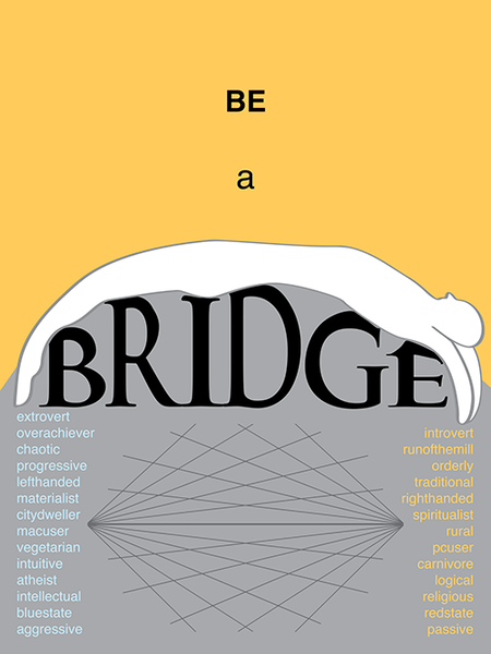Be a Bridge poster