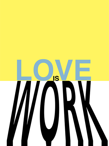 Love Is Work poster