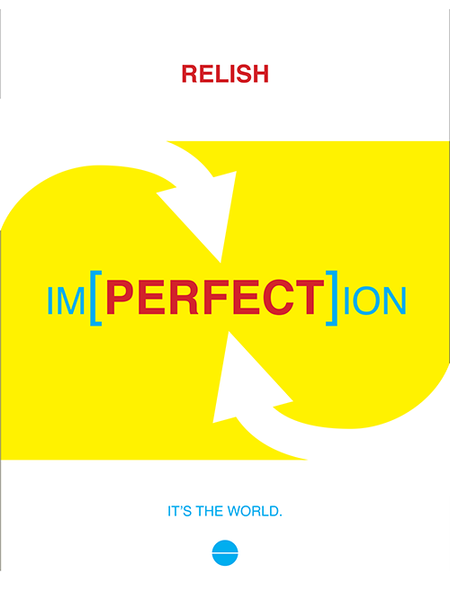 Relish Imperfection poster