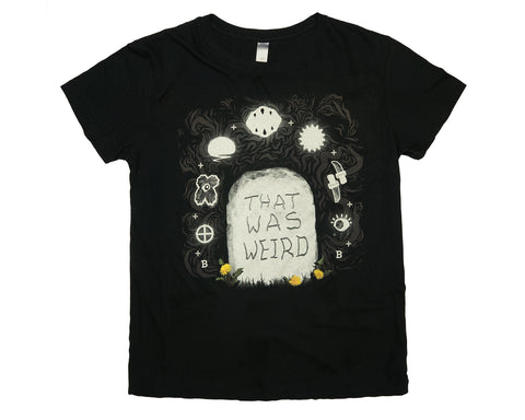 That Was Weird Mens T-shirt by Bluddy Blouson