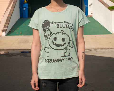 Scrummy Womens T-shirt by Bluddy Blouson
