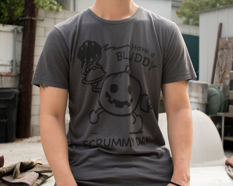 Scrummy Mens T-shirt by Bluddy Blouson