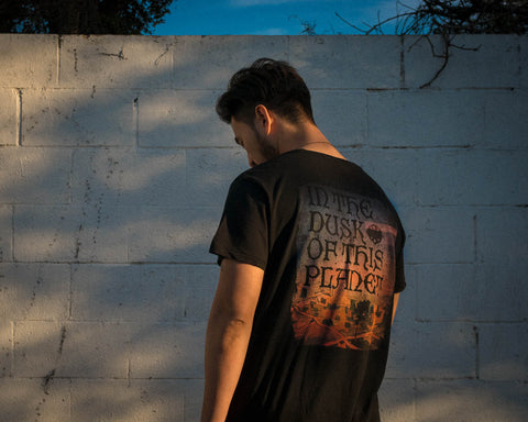 In the Dusk Mens T-shirt by Bluddy Blouson