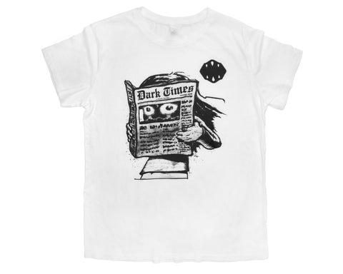 Dark Times Mens T-shirt by Bluddy Blouson