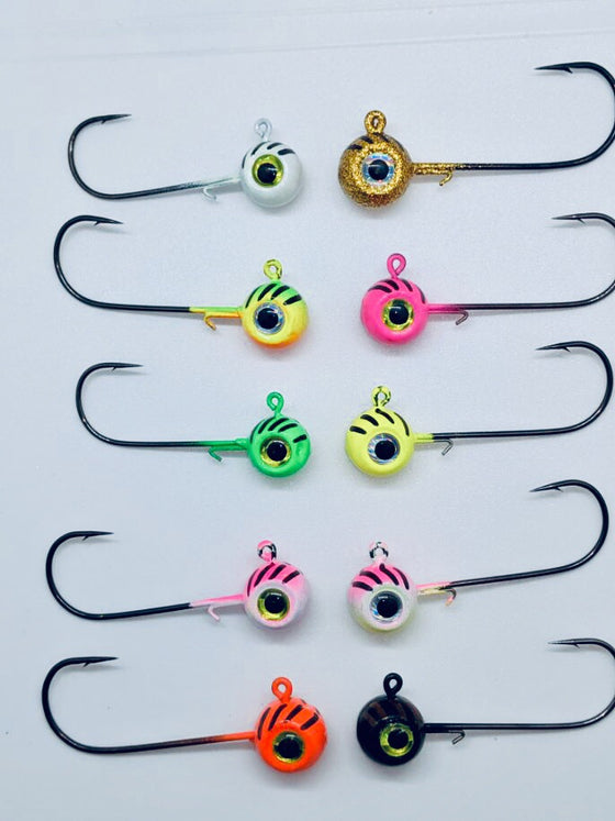 Tournament Series Jigs (3/16 oz, 1/4 oz, 5/16 oz)