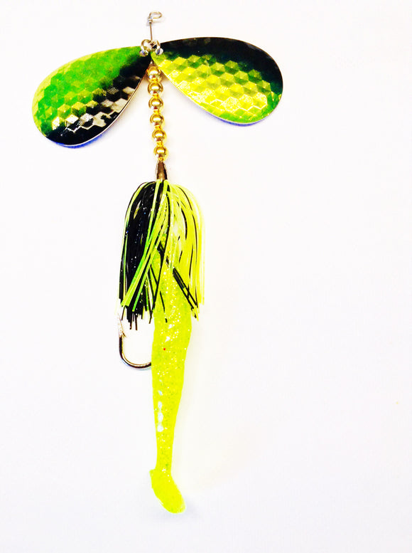 In-Line Double Blade Muskie Lures