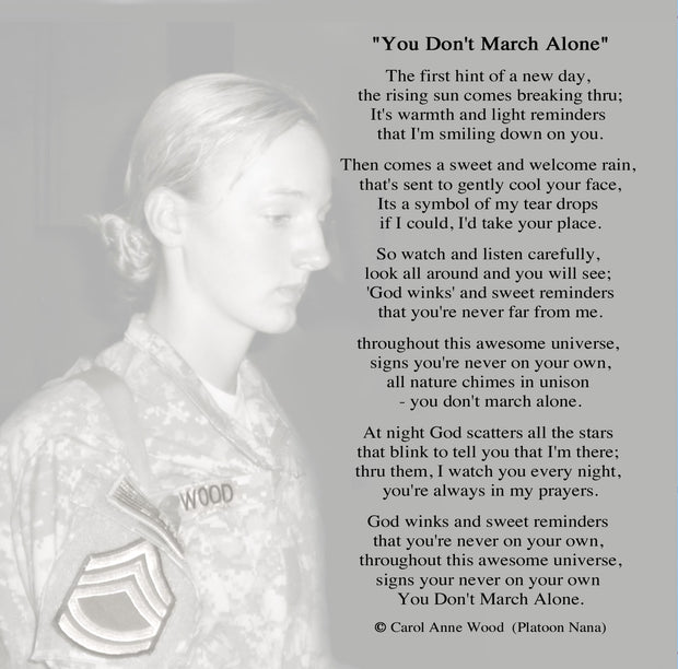 You Don't March Alone CD