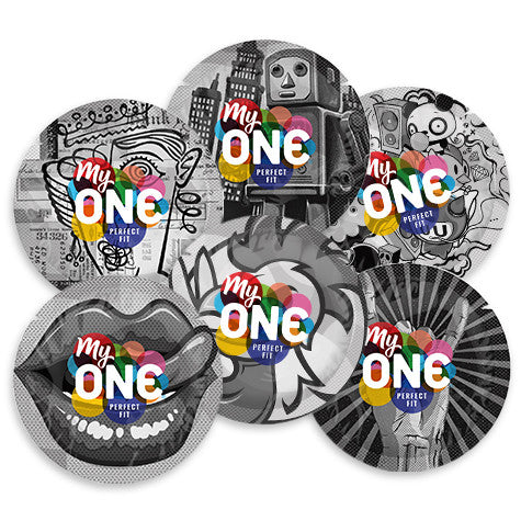 MyONE® Size O77 Custom Fit Condoms