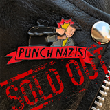 "Punch Nazis 2"" Real Motion Soft Enamel Pin (Red Variant)"