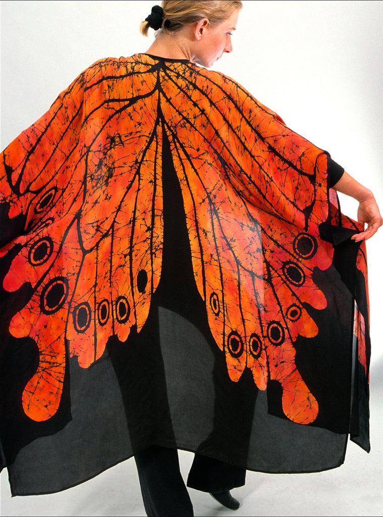 Monarch Butterfly Shawl