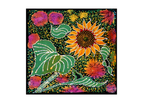 """Sunflower"" Wall Hanging"