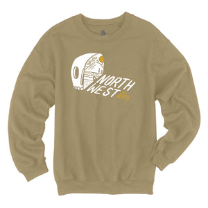 Adventure Dreamin' Crew Neck Sweatshirt - Tan