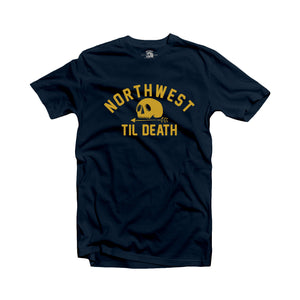 Line Up T-Shirt - Navy/Gold