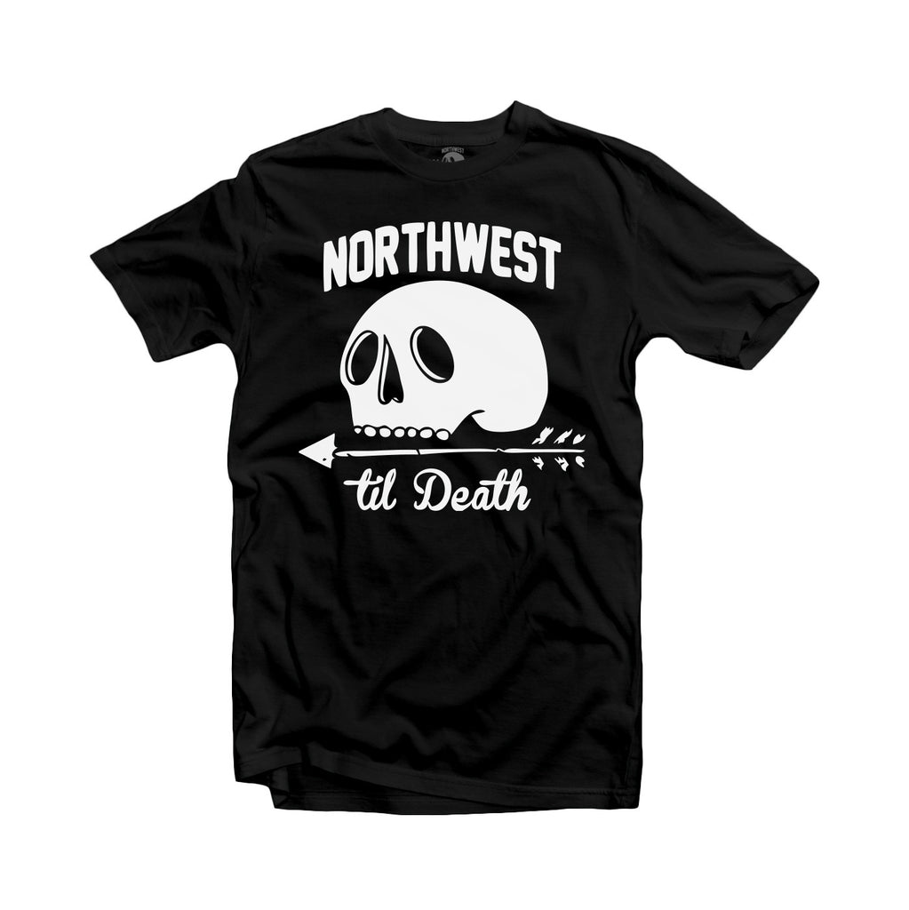 Northwest Til Death Skull T-Shirt