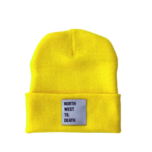 Road Trip Beanie - Lemon