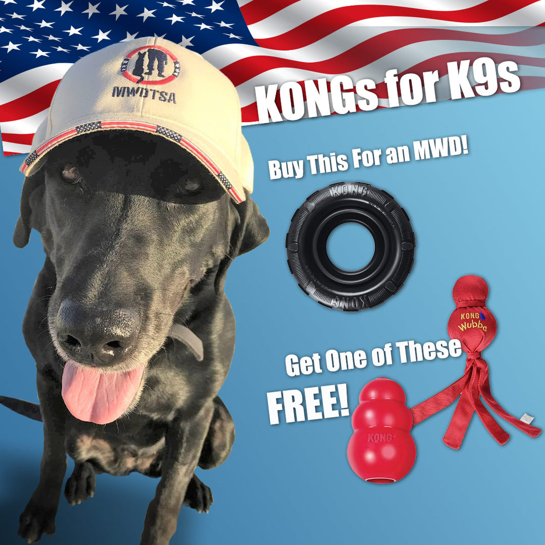 Donation Pack: KONGs for K9s