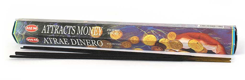 HEM Attracts Money Incense