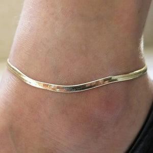 Chain Reaction Anklet