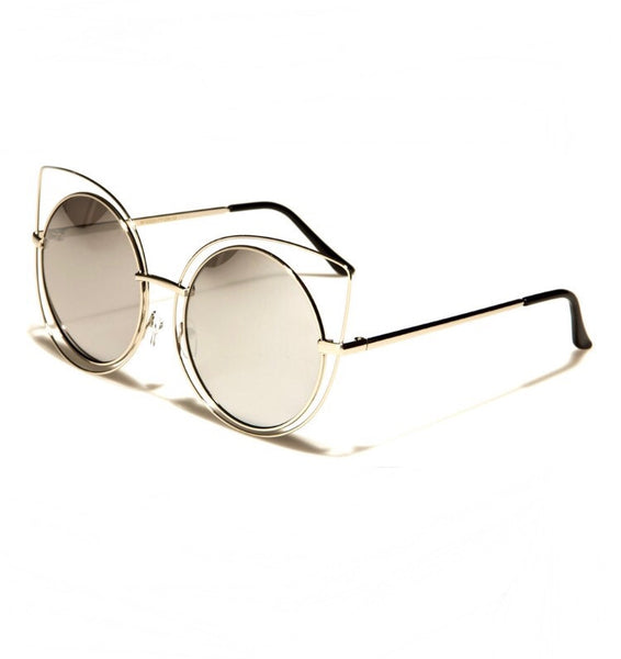 The Purrffect Retro Sunglasses