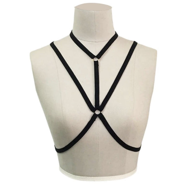 Strapped Body Harness