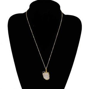Quartz Nugget Necklace