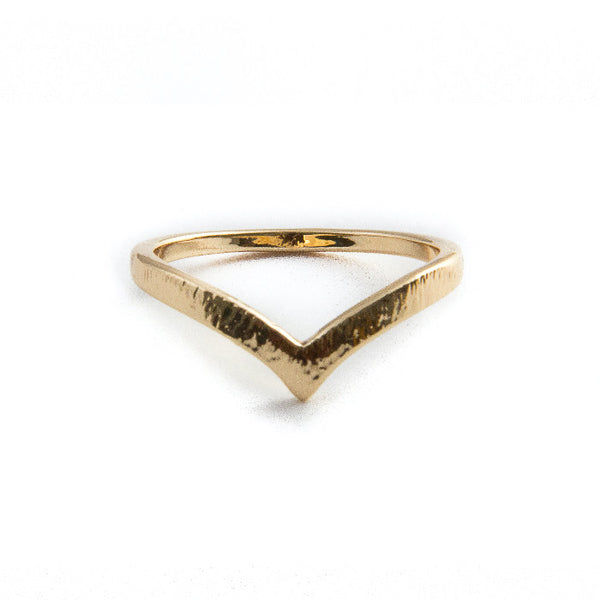 Pointed Midi Ring
