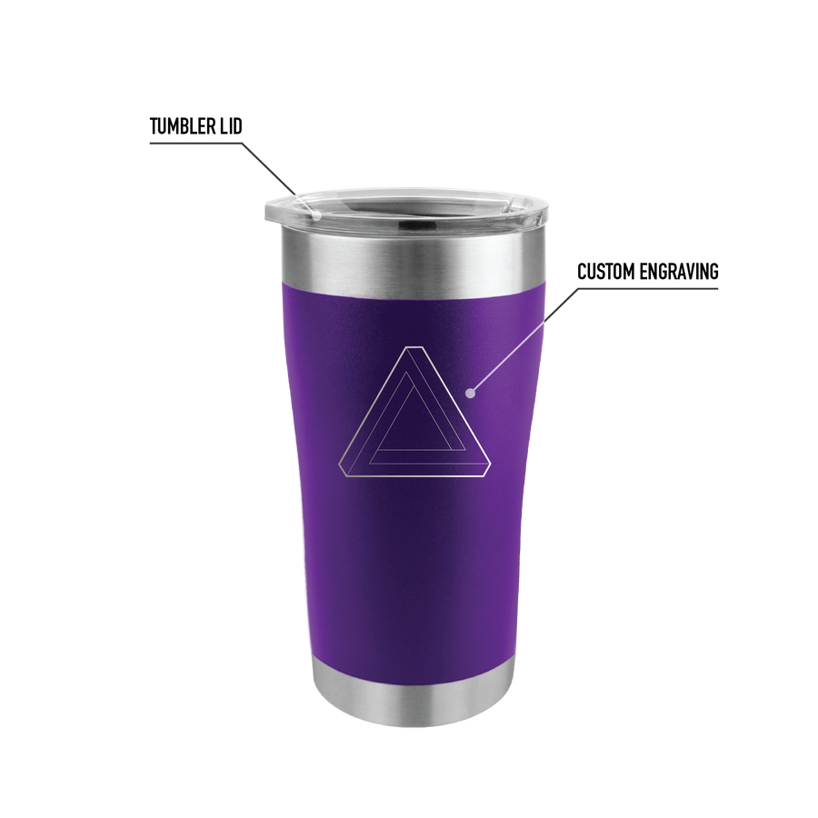 20oz Tumbler - TEMPERCRAFT USA