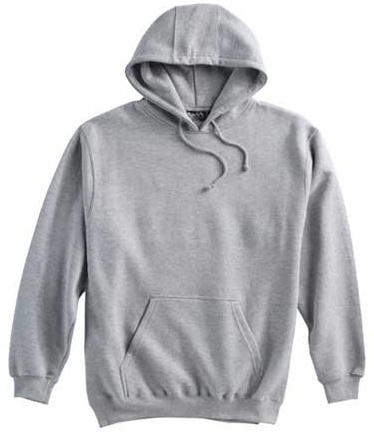 Grey Hooded Sweatshirt w/ PPYRC logo on front