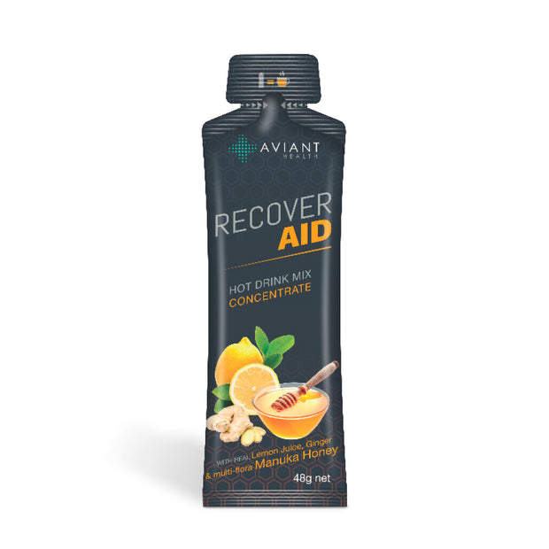 Aviant Recover Aid - Manuka Honey, Lemon & Ginger Drink Mix