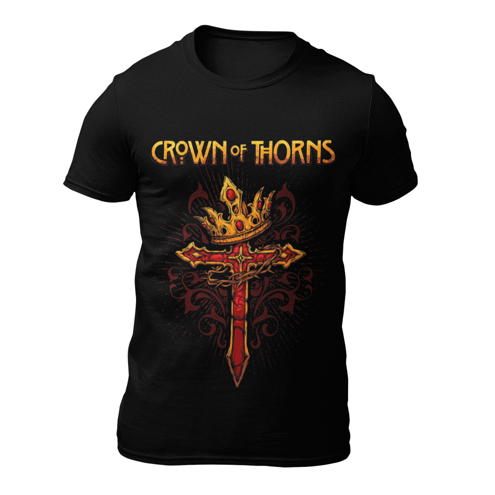 crown of thorns official unisex t-shirt