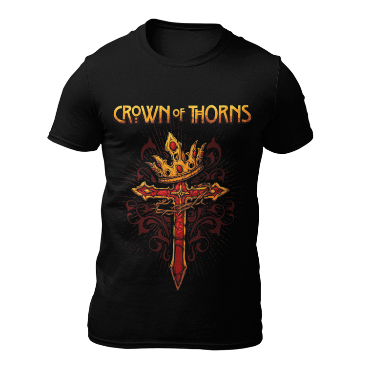 Crown Of Thorns Cross T-Shirt