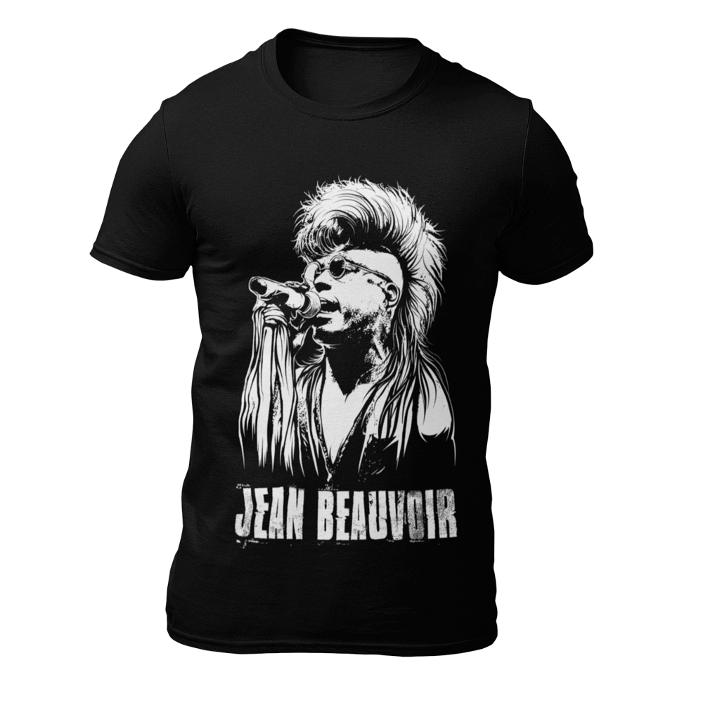 jean beauvoir caricature official unisex t-shirt