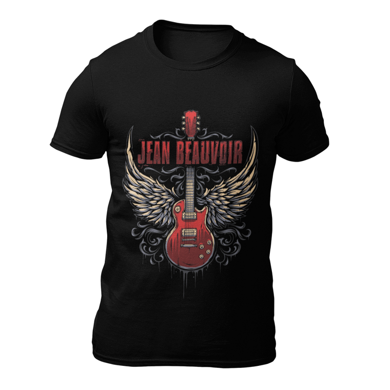 Jean Beauvoir Guitar T-Shirt