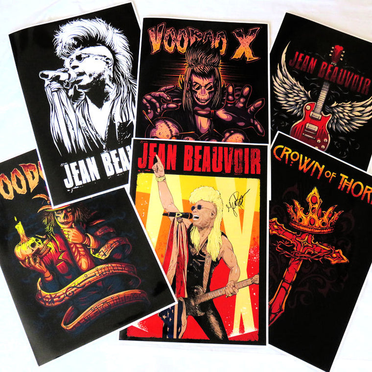 Jean Beauvoir, Voodoo X & Crown Of Thorns Poster Pack - A2 Size