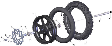 WHEEL FRONT - 2020 CX50 JR