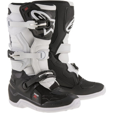 Alpinestar Tech 7S Youth MX Boot BLACK/WHITE