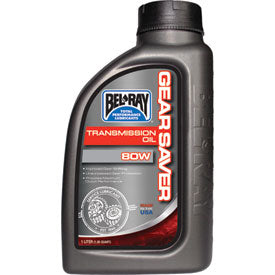 BEL-RAY 80W GEAR SAVER TRANSMISSION OIL 3603-0017