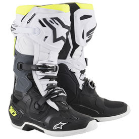 Alpinestar MX Boot Tech 10 WHITE/BLACK/YELLOW