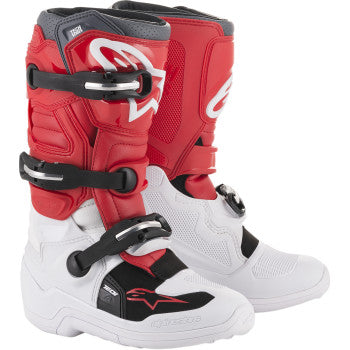 Alpinestar Tech 7S Boots - White/Red/Gray