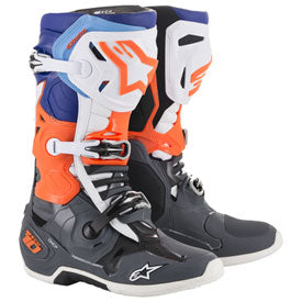 Alpinestar MX Boot Tech 10 GREY/BLUE/ORANGE