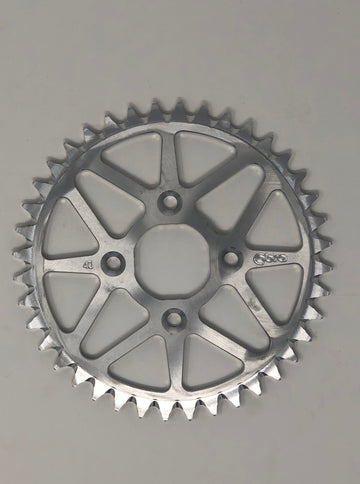 SPROCKET - ALUMINUM - PDM BOLTS - 50CC (415) (CLICK FOR SIZE OPTIONS)