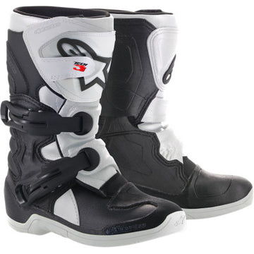 Alpinestar Tech 3S Kids Boots BLACK/WHITE